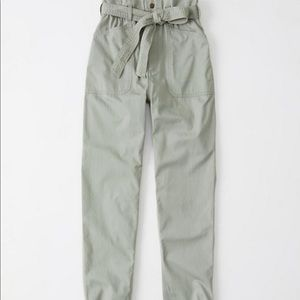 Abercrombie & Fitch high rise utility pants
